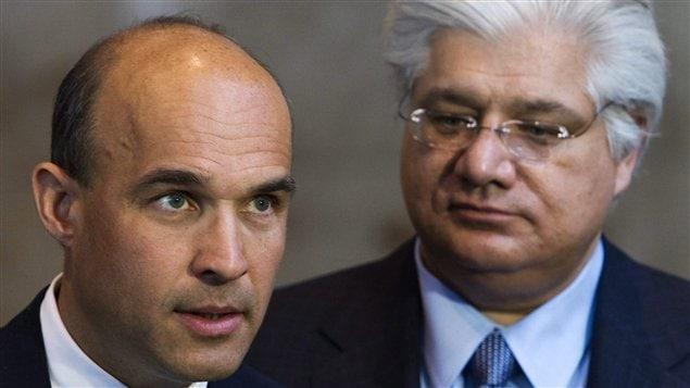 Jim Balsillie et Mike Lazaridis