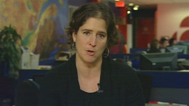 Fannie Lafontaine, professeure à la Faculté de droit de l'Université Laval