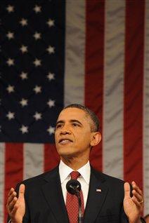 Barack Obama prononce son discours sur l'état de l'Union.
