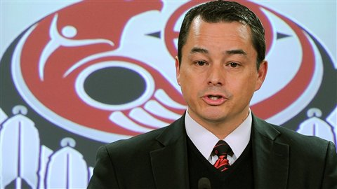 Le chef national de l'Assembl�e des Premi�res Nations, Shawn Atleo
