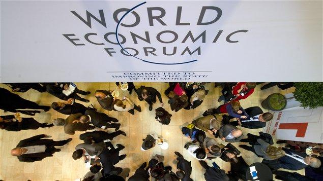 Participants au Forum économique mondial