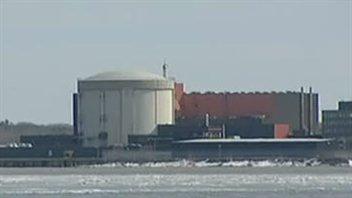 Centrale nucléaire de Gentilly-2, à Bécancour