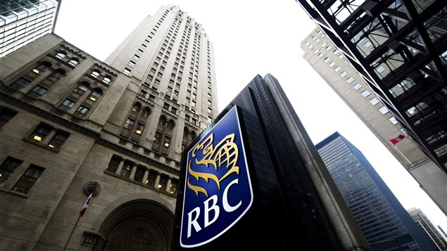 Édifice de la RBC au centre-ville de Toronto
