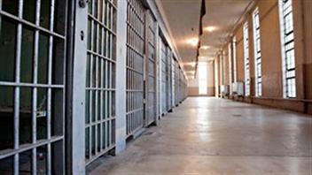 Le couloir d'une prison