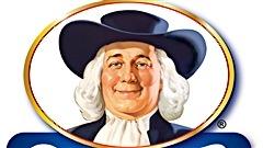 Le célèbre visage qui orne le logo de la compagnie Quaker depuis 1877.