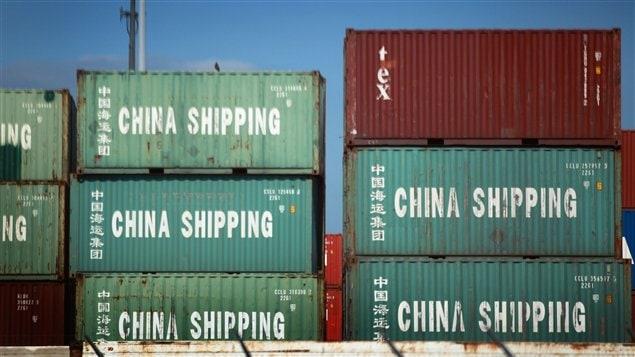 Des conteneurs au port de Miami