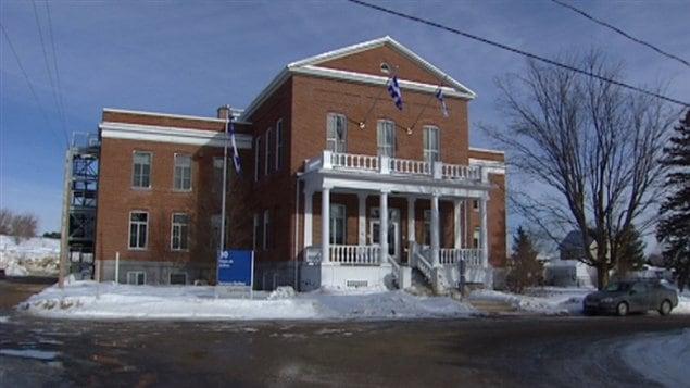 Les locaux sont situés au sous-sol du palais de justice de Campbell's Bay. (archives)