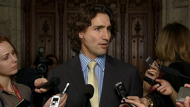 Justin Trudeau a d clarifier ses propos, mardi aux Communes.