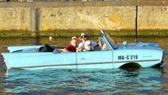 L'amphicar, photo tirée de Wikipedia