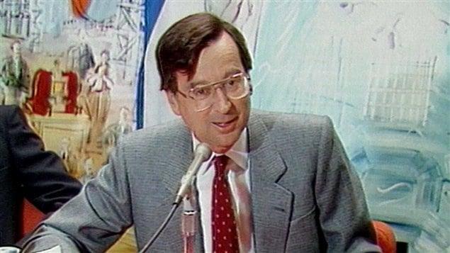 L'ancien premier ministre du Québec Robert Bourassa (archives)