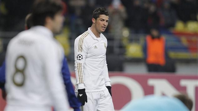 Cristiano Ronaldo est déçu.