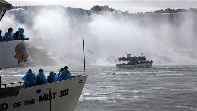 Des bateaux touristiques Maid of the Mist