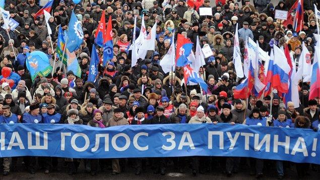 Premier ministre russe vladimir poutine à moscou le 23 février 2012