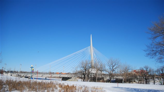 Le pont Provencher  Winnipeg