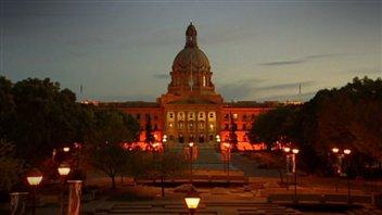 L'Assemblée législative de l'Alberta à Edmonton.
