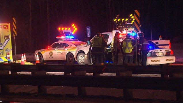 Accident mortel à Laval