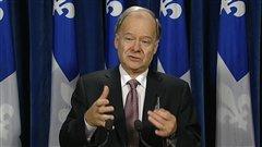 Le ministre des Finances Raymond Bachand
