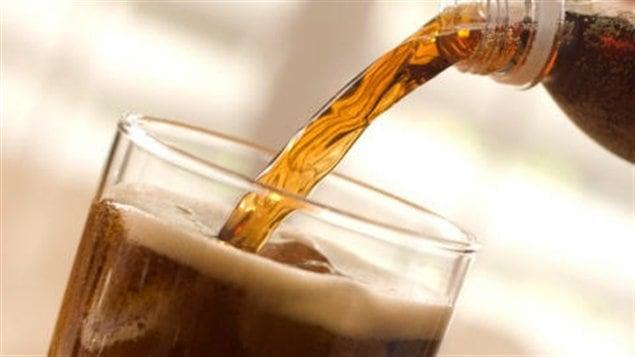 Une boisson gazeuse