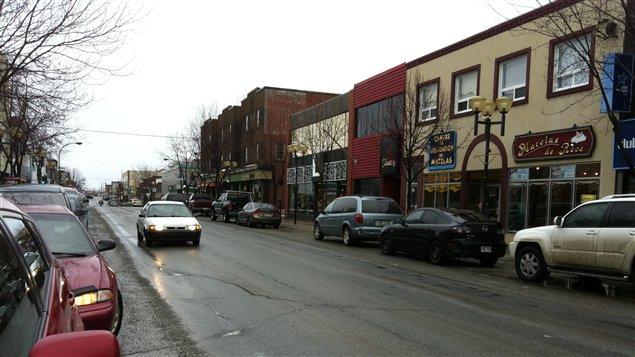 Le centre-ville de Rouyn-Noranda