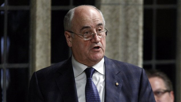 Le ministre canadien de la Coopération internationale, Julian Fantino (archives)