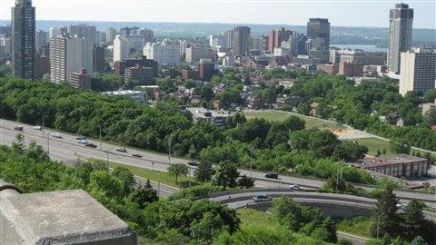 Vue panoramique d'Hamilton
