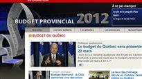 Budget du Québec 2012-2013