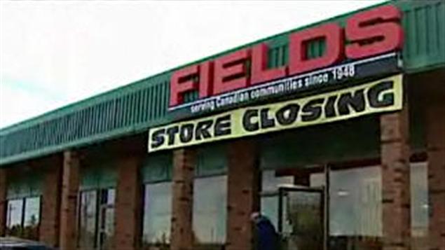 Les magasins Fields fermeront leurs portes avant la fin de l'année