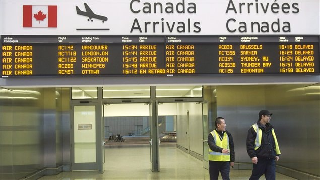 L'aéroport Pearson de Toronto (archives)