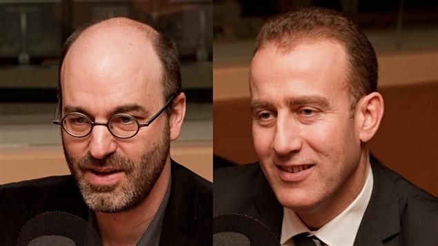 � Radio-Canada / Fran�ois Lemay | Alain Deneault et Messaoud Abda