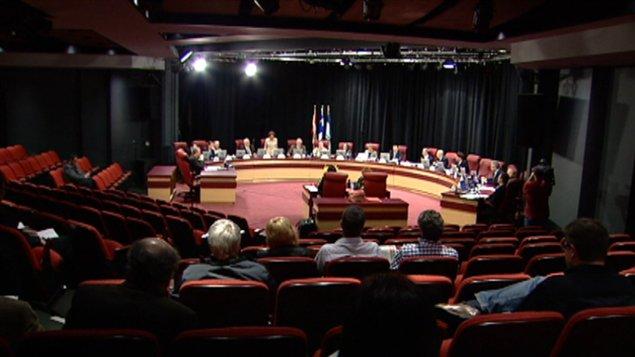 Le conseil municipal de Gatineau (archives)
