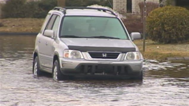 Inondations à Saint-Raymond de Portneuf