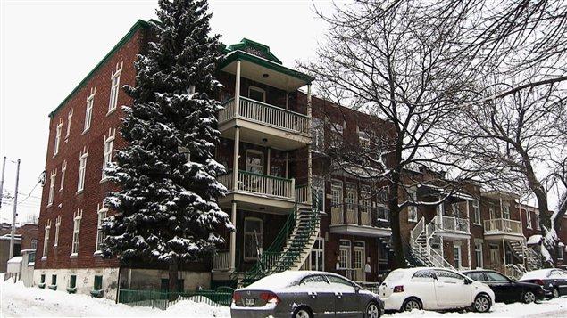 Le foyer d'accueil montréalais Ressource Lafontaine, dans Hochelaga-Maisonneuve, à Montréal.