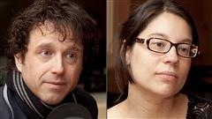 ©Radio-Canada/Christian Côté | <b>Mario St-Amand et Jöelle Spérano</b>