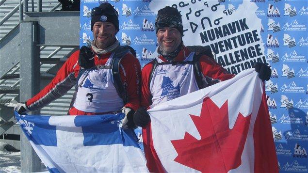 Les gagnants, Ian Beaulieu et Simon Côté
