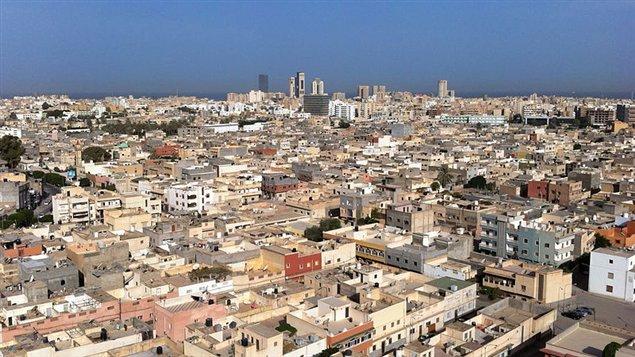 Une vue de Tripoli, en Lybie