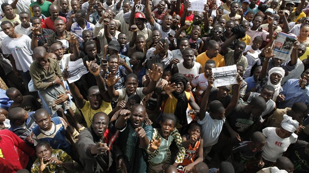 Manifestants Mali