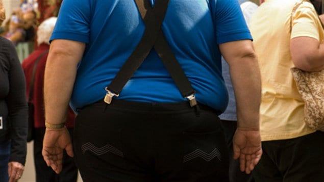 Obèse sur la rue