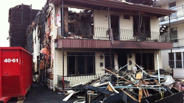 Incendie Beauport