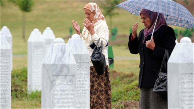 Des femmes à Srebrenica, Bosnie (archives)