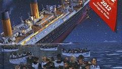 Une partie de la pochette de livre � Titanic : catastrophe en mer �