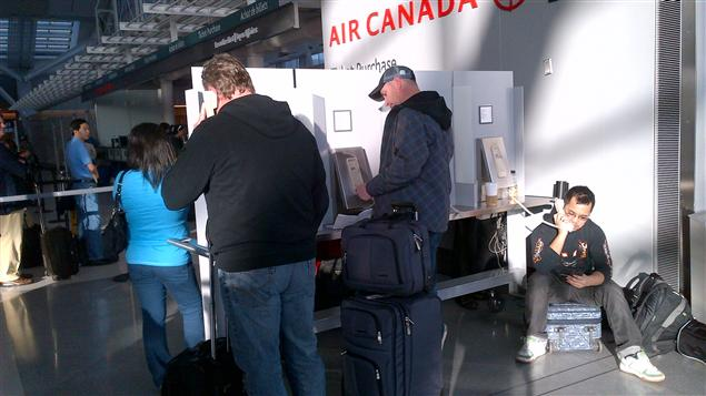 passagers d'Air Canada