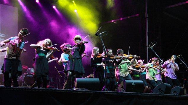 Le North Shore Celtic Ensemble en spectacle