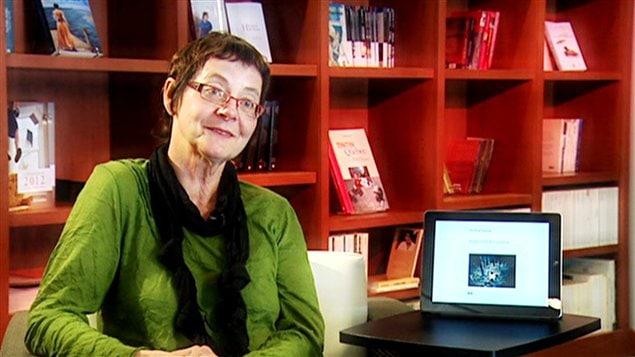 L'auteure Jocelyne Saucier