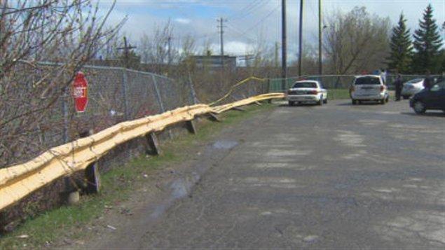 Un homme a été happé mortellement par un train près du parc Camirand à Sherbrooke.