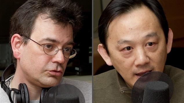 ©Radio-Canada/Christian Côté | <b>Stéphane Roussel et Ting-Sheng Lin</b>