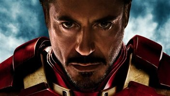 Robert Downey Jr dans Iron man