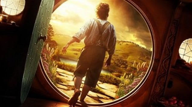 Une scène de <i>The hobbit</i> de Peter Jackson