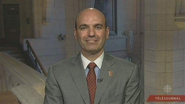 Nathan Cullen, député fédéral de la circonscription de Skeena-Bukley Valley