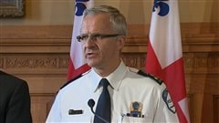 Le chef du SPVM, Marc Parent