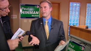 L'ancien député du Wildrose Paul Hinman